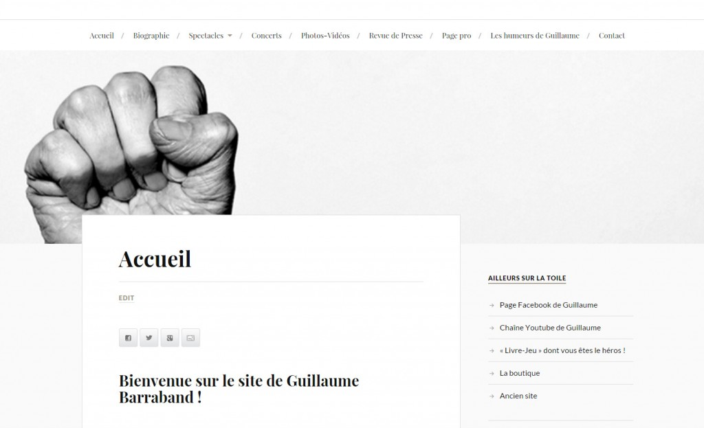Site Internet de Guillaume Barraband